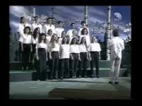 Video still taken from the Youtube video of Tov Lalakhet Badrakhim