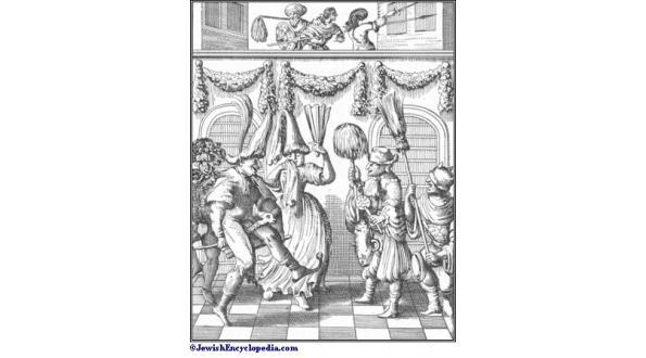 "Purim Festum taken from Leusden, ""Philologus Hebræo-Mixtus Image taken from the Jewish Encyclopedia"