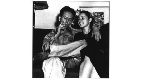 Photo of Woody and Marjorie. Taken from http://memory.loc.gov/ammem/wwghtml/wwgessay.html Originally from  Woody Guthrie Foundation and Archives (New York), Album 5 p. 1, 1999-9/1.